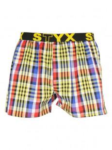 STYX trenky SPORT YELL/BLU/RED