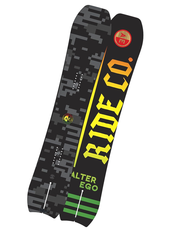 Ride Snowboard Alter Ego Blk/gry - 162 černá