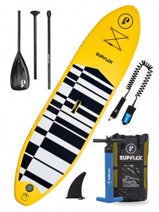 SUPFLEX paddleboard FUN YELLOW