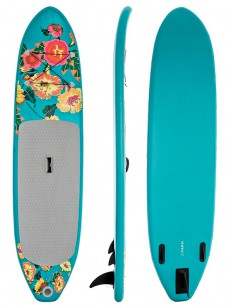 SUPFLEX paddleboard FUN FLOWERY GREY