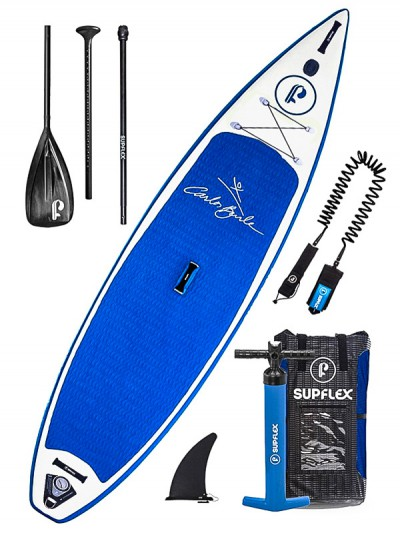 SUPFLEX paddleboard PRO CARLOS BURLE BLU