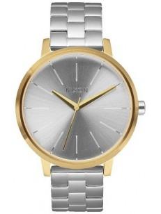 NIXON hodinky KENSINGTON GOLDSILVERSILVER