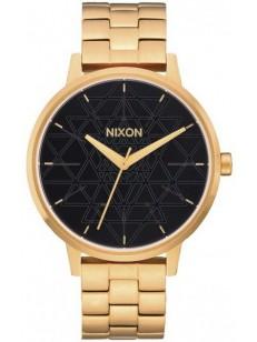 NIXON hodinky KENSINGTON GOLDBLACKSTAMPED