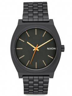 hodinky Nixon Time Teller all black surplus