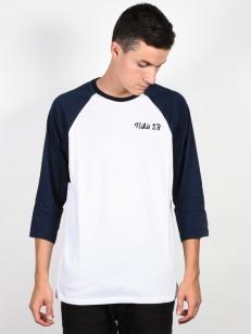 NIKE SB tričko DRY 3QT GFX WHITE/OBSIDIAN