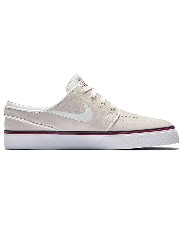 Nike Sb Boty Zoom Janoski White/ivory/red - 6,5us béžová