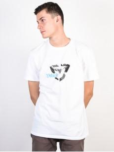 VEHICLE tričko DECAY WHITE