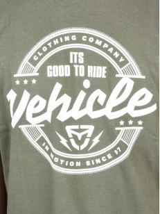 VEHICLE triko BADGE CITY GREEN