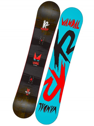 K2 snowboard VANDAL BLACK/RED