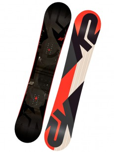 K2 snowboard STANDARD BLACK/RED