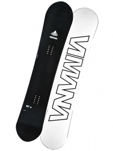 VIMANA snowboard CONTINENTAL D ROCKER BLACK/WHITE
