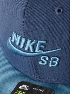 NIKE SB kšiltovka PRO BLUE/AQUA