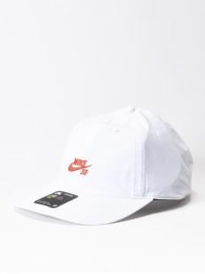 NIKE SB kšiltovka HERITAGE86 WHITE/CORAL