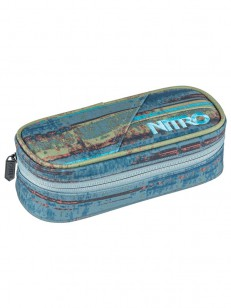 NITRO penál PENCIL CASE FREQUENCY BLUE
