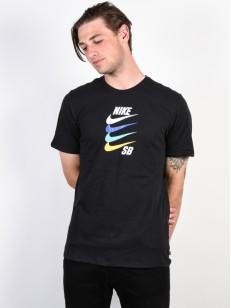 NIKE SB tričko FUTURA BLACK