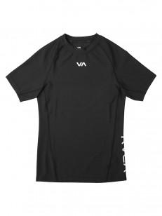 RVCA mikina VA COMPRESSION BLACK