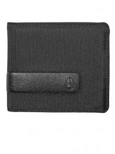 NIXON peněženka SHOWDOWN ALLBLACKNYLON