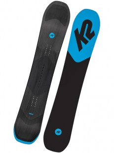 K2 snowboard BROADCAST BLACK/BLUE