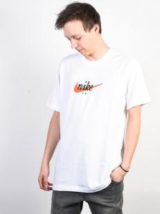 NIKE SB triko FUTURA WHITE/ORANGE