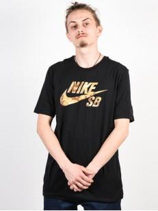 NIKE SB tričko LOGO SNSL2 BLACK