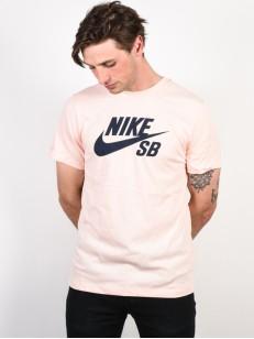 NIKE SB tričko DRY DFCT LOGO CORAL/OBSIDIAN