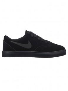 NIKE SB topánky CHECK SUEDE (GS) BLACK/BLACK