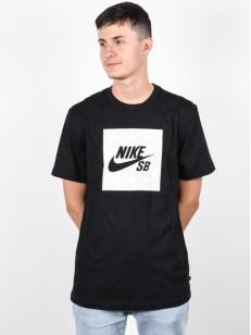NIKE SB tričko LOGO NOMAD BLACK