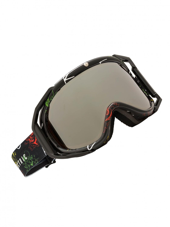 Electric Brýle Rig Bronze/silver Chrome černá