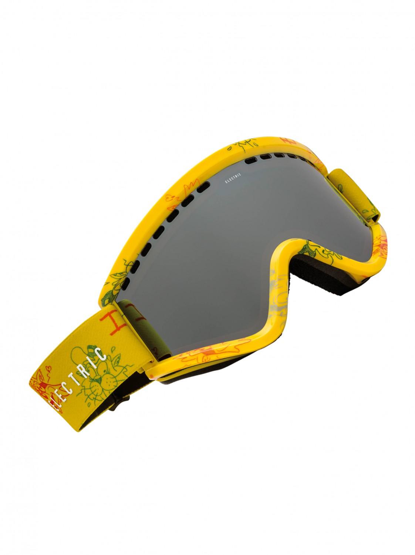 Electric Brýle Egv Bronze/silver Chrome žlutá