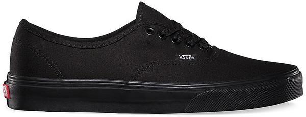 Vans Boty Authentic Black/black - 5,5us černá