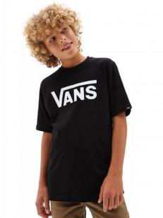 VANS triko CLASSIC Black/White