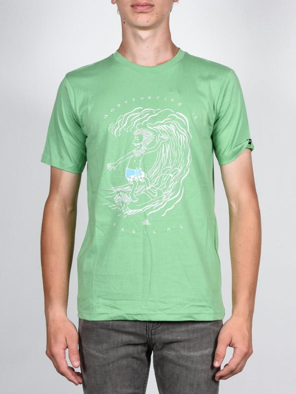 Quiksilver Triko Radical Surfing Gka0 - Xs/8 zelená