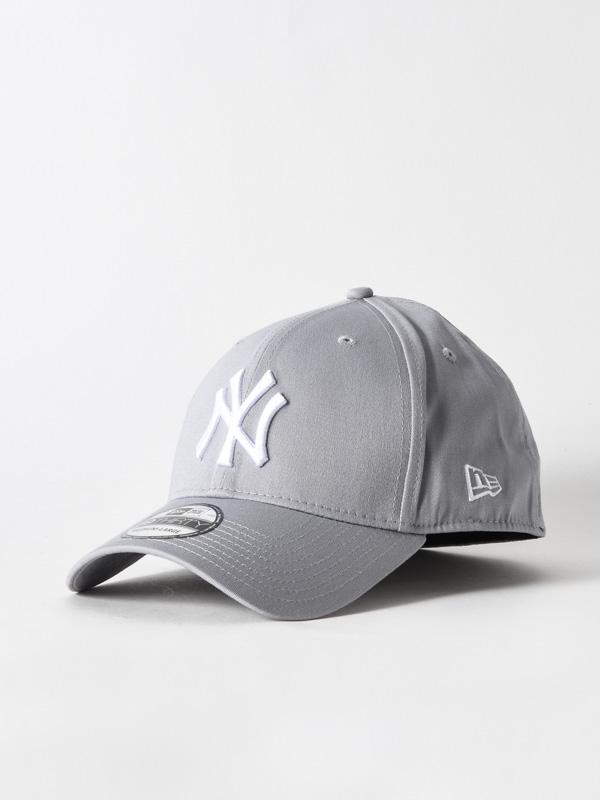 New Era Kšiltovka 3930 Mlb-neyyan Grey/white - L/xl šedá