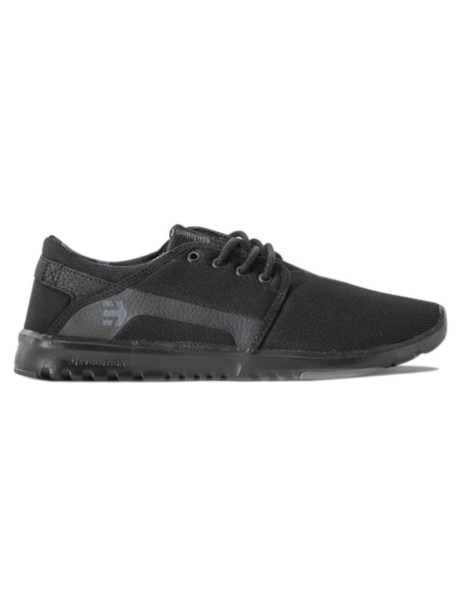 Etnies Boty Scout Black/grey/black - 12us černá