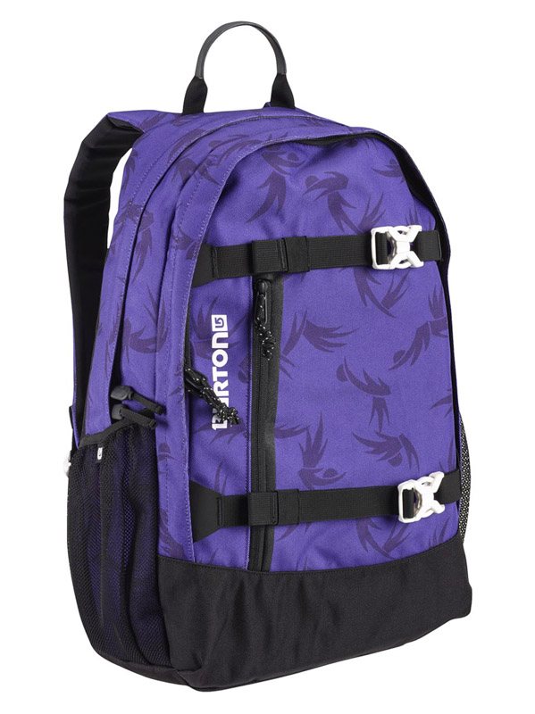 Burton Batoh Wms Day Hiker Grape Modern Floral fialová
