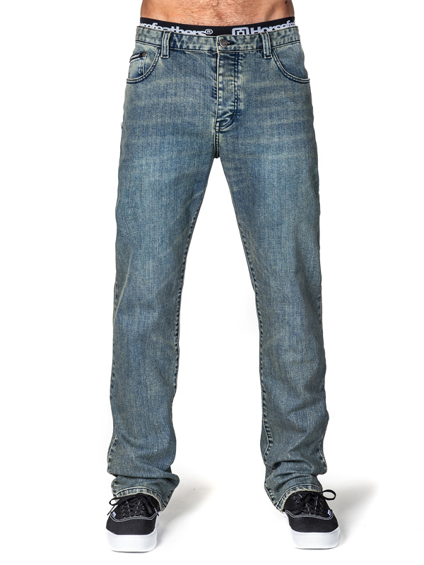 Horsefeathers Kalhoty Travis Blue - 30