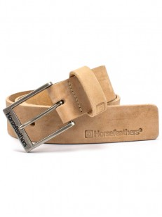 HORSEFEATHERS pásek DUKE brushed nut