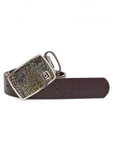 HORSEFEATHERS pásek FRED croc brown