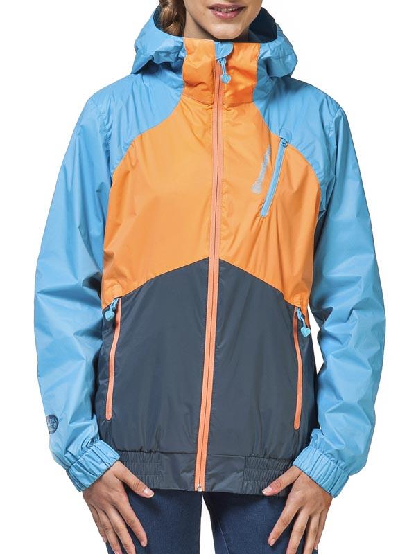 Horsefeathers Bunda Denise Pumpkin/blue - L oranžová