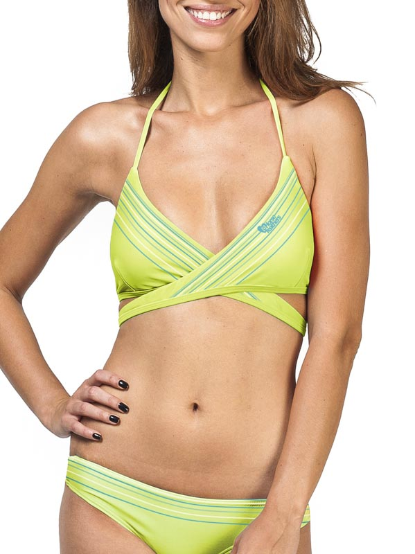 Horsefeathers Plavky Cleo Triangle Lime - M