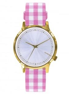 KOMONO hodinky ESTELLE VICHY PINK