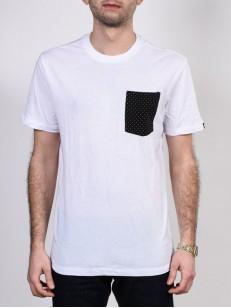 ETNIES tričko OPERATOR WHITE