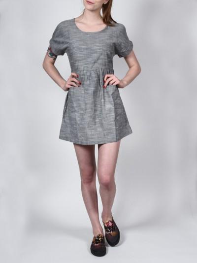 EZEKIEL šaty HORIZON BLK