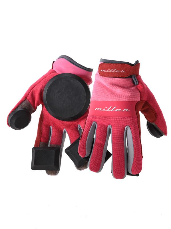 Miller Longboard Rukavice Freeride Pink - S růžová