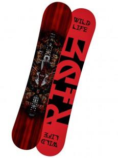 RIDE snowboard WILDLIFE BLK 161