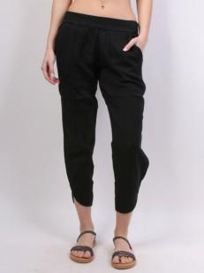 RVCA plátěné kalhoty DAYDREAM BLACK
