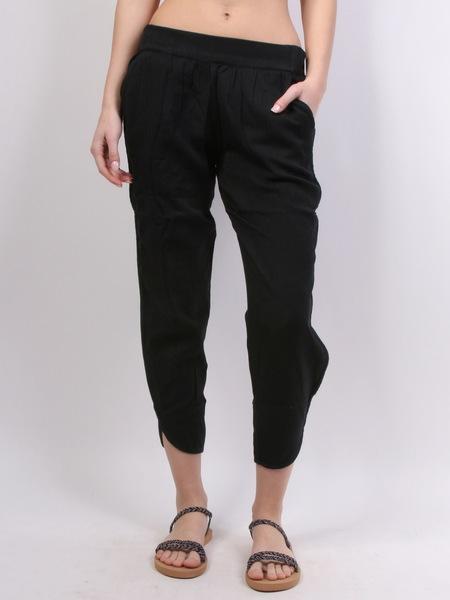 Rvca Plátěné Kalhoty Daydream Black - S černá