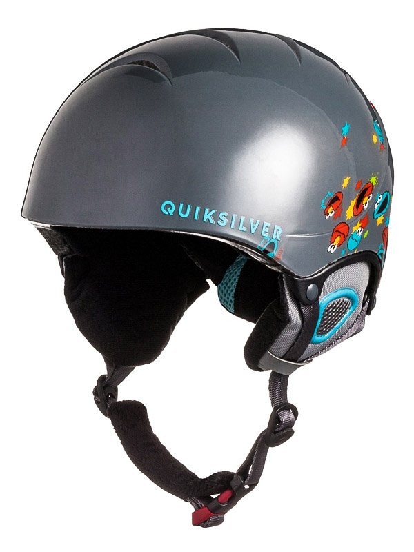 Quiksilver Helma The Game Glq9 - 56 šedá