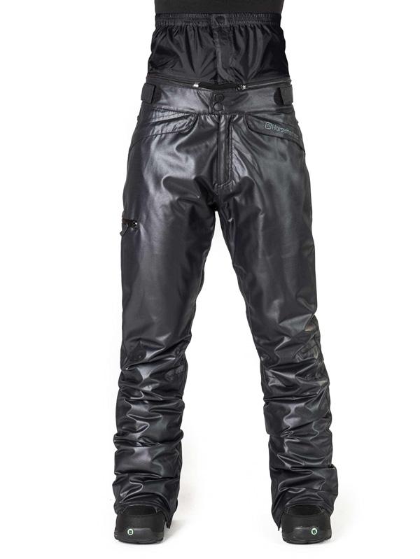 Horsefeathers Kalhoty Floria Glam Leather - Xs černá