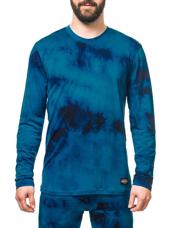 Horsefeathers Termoprádlo Silas Blue Batik - L modrá